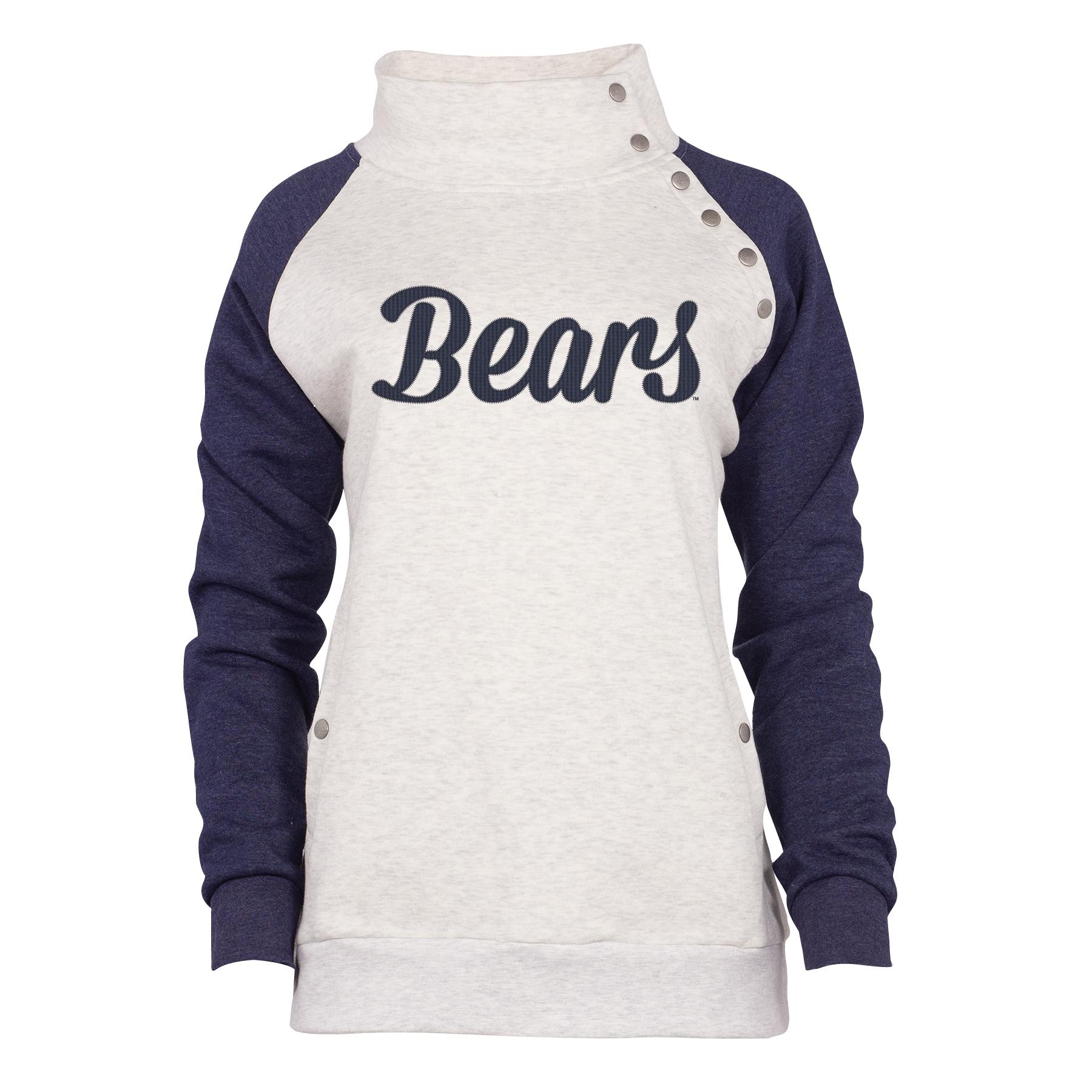 Bears Snap Pullover