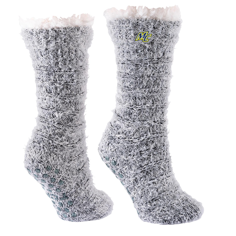 Snowy Slipper Sock