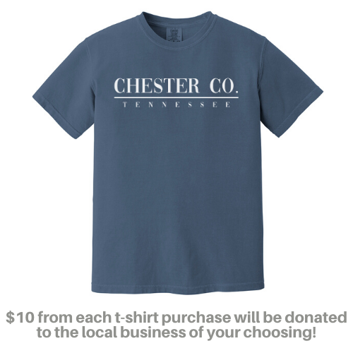 Comfort Colors® Chester Co. Tee - ADULT