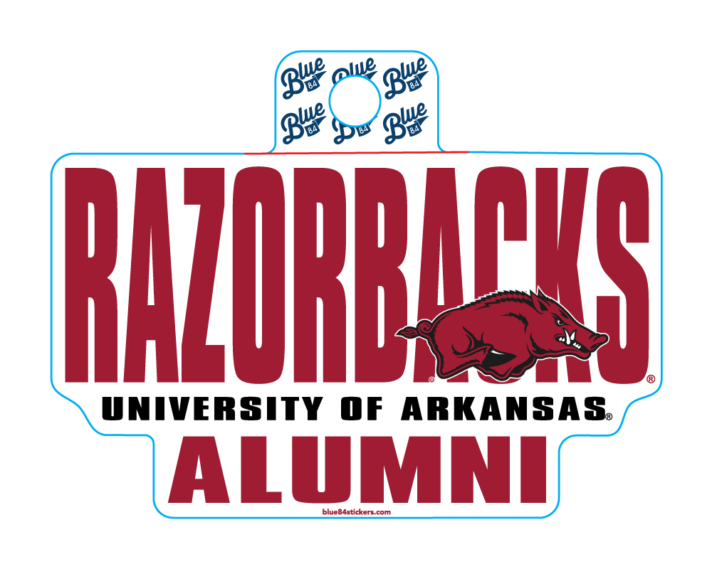 Razorbacks UofA Alumni Sticker