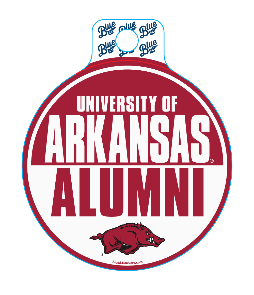 UofA Alumni Slam Circle Sticker