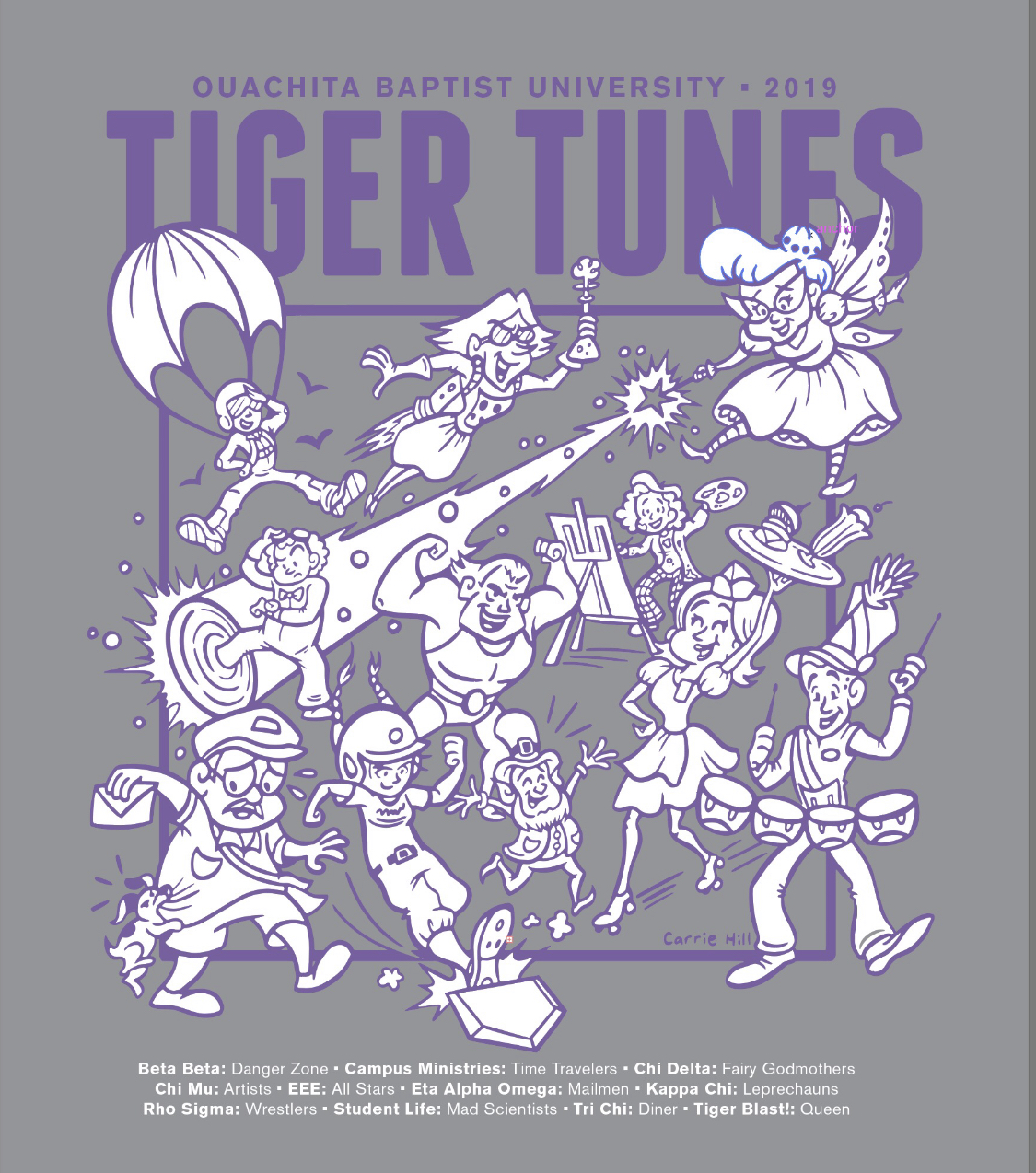 2019 TIGER TUNES LONG SLEEVE TEE