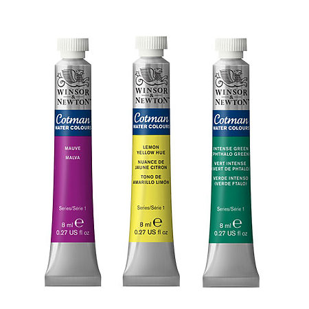 Cotman Watercolors 8ml Tubes