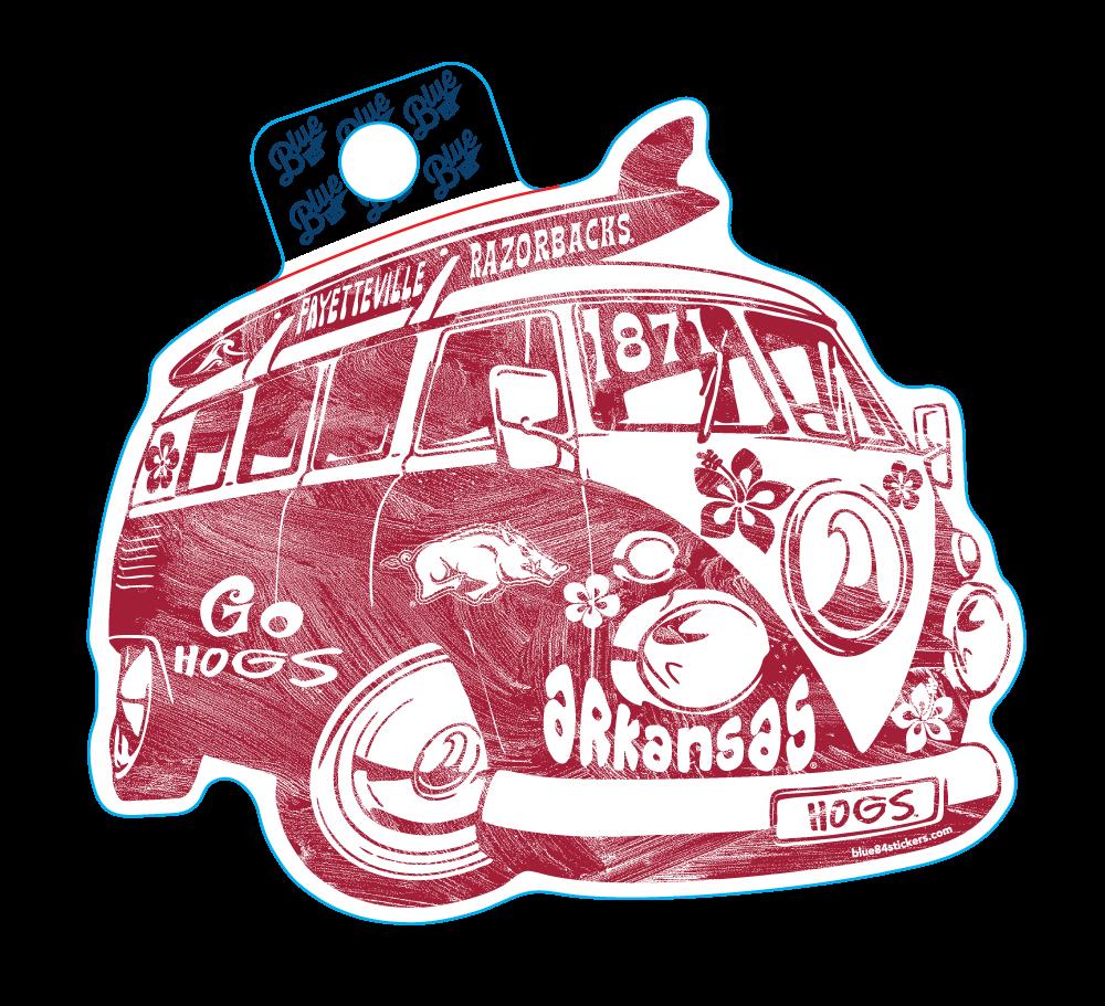 Major Revamp Surf Bus-ARU Sticker