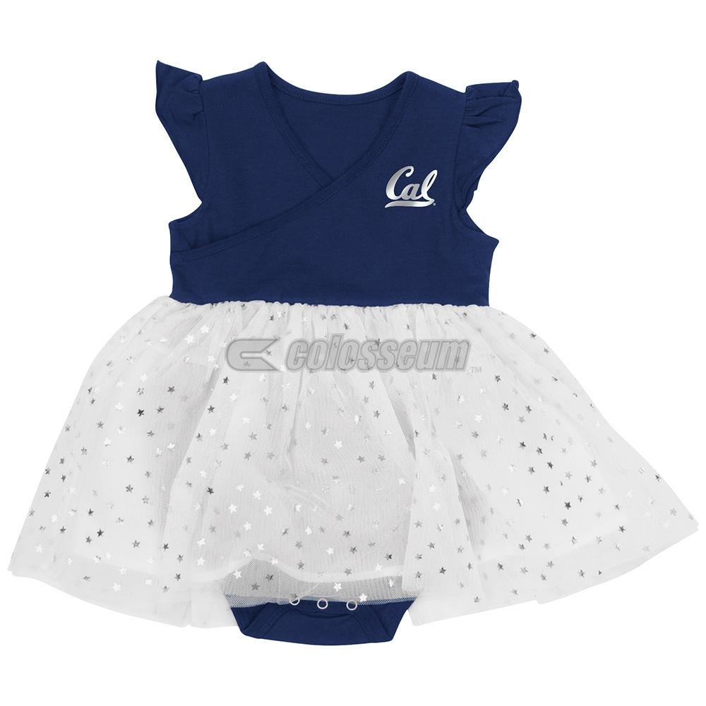 Cal Bears Infant Girls L-Seven Tutu Onesie Dress by Colosseum