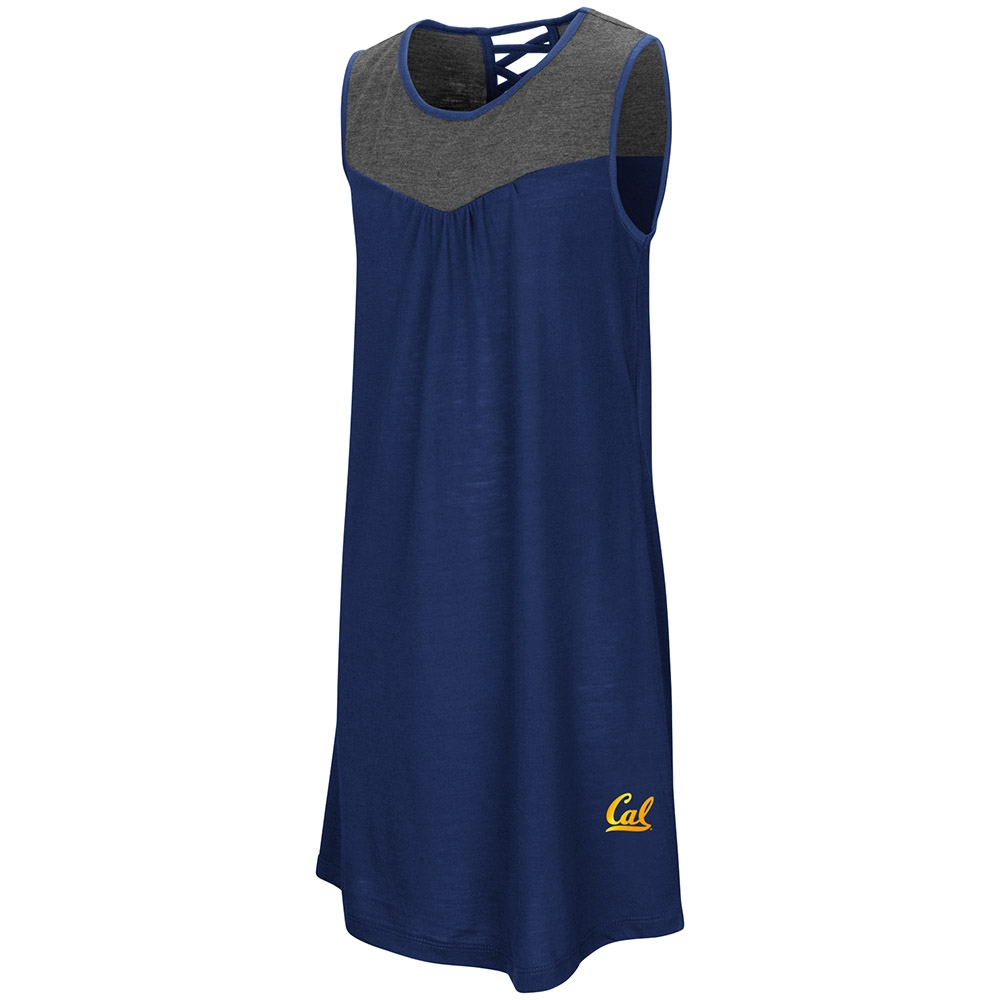 Cal Bears Girl's S'more Strappy Back Tank Dress by Colosseum