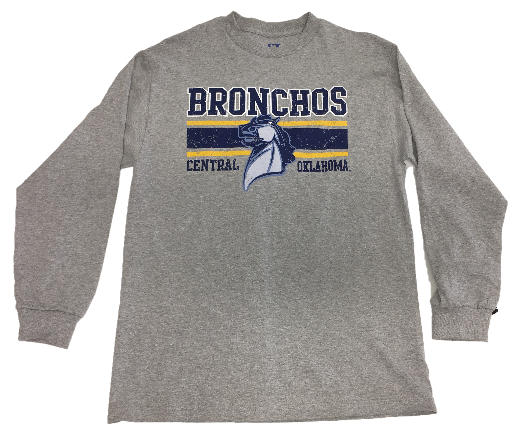 Central Oklahoma Bronchos Dots LS Tee
