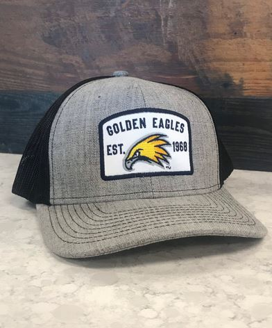 Golden Eagles Trucker Cap with Patch Design