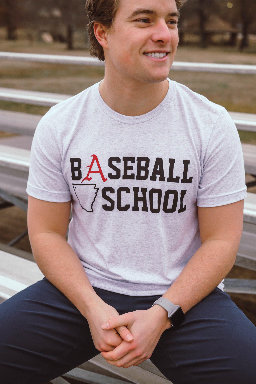 M Baseball School SS Tee