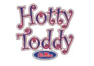 Curlicue Hotty Toddy Decal 6in