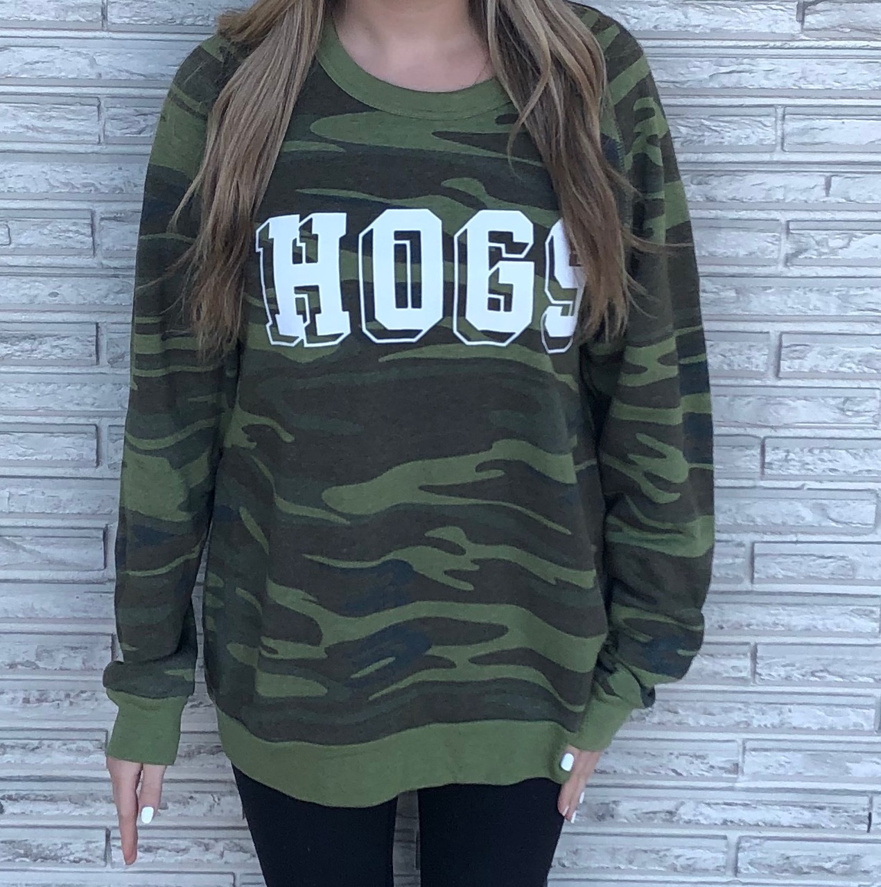 W Invisible Hogs Sweatshirt