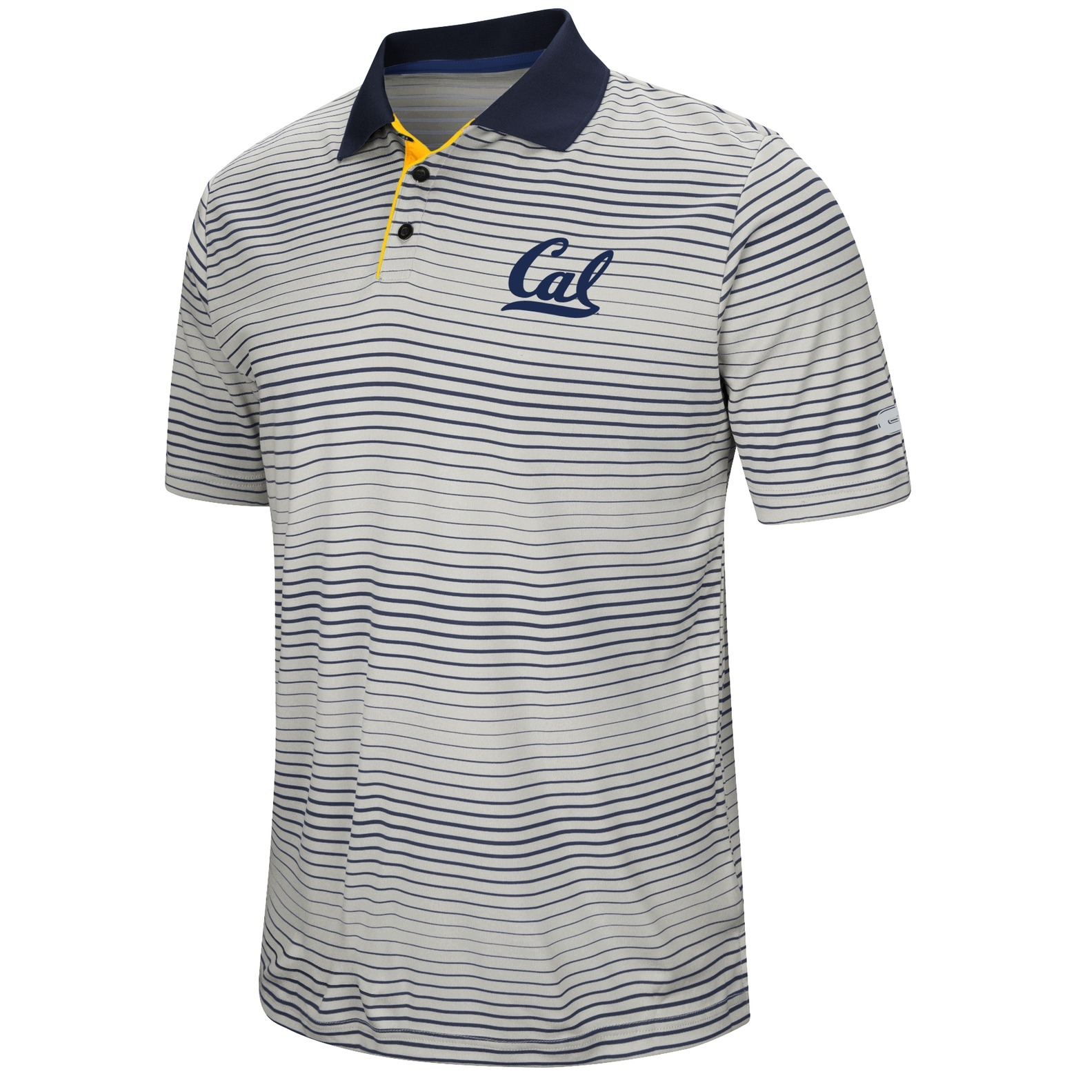 Cal Bears Lesson Number One SS Polo Shirt by Colosseum