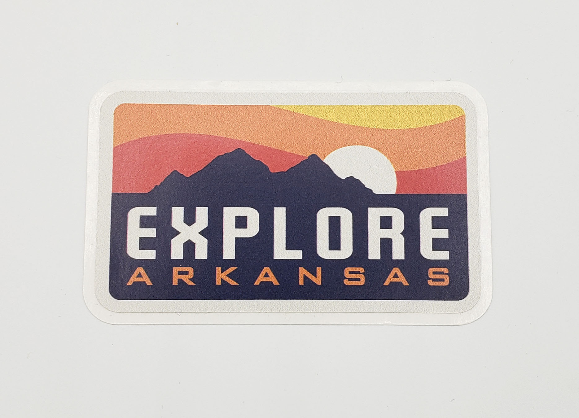 Explore Arkansas Sticker