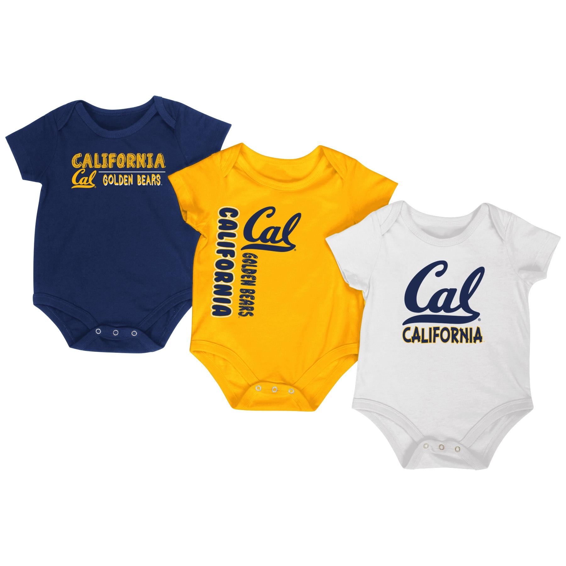 University of California Berkeley Infant Trifecta Onesie 3-Pack