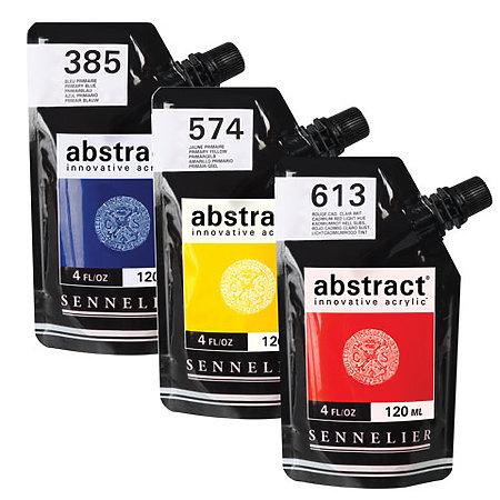 Sennelier Abstract Acrylics Satin Colors 4oz