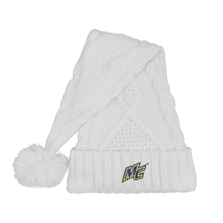 White Holiday Santa Hat