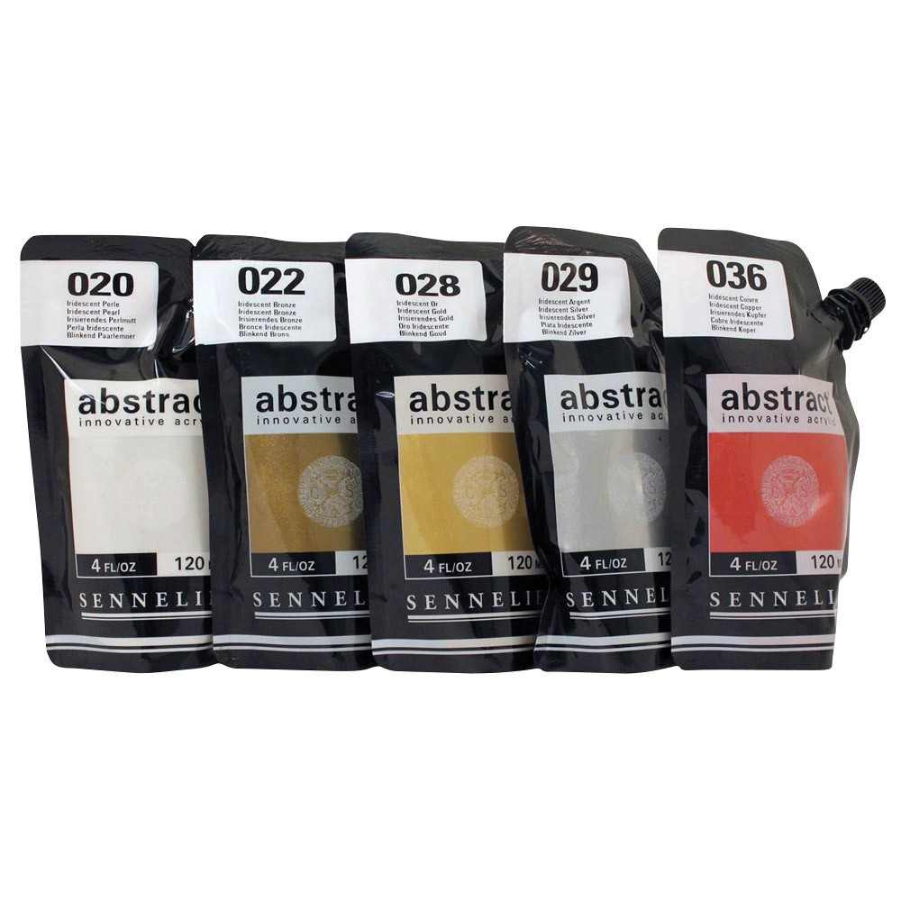Sennelier Abstract Acrylics Iridescent Colors 4oz