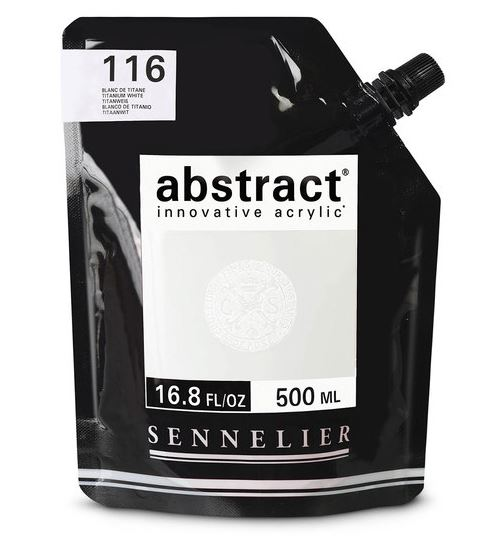 Sennelier Abstract Acrylics Satin Colors 16.6oz