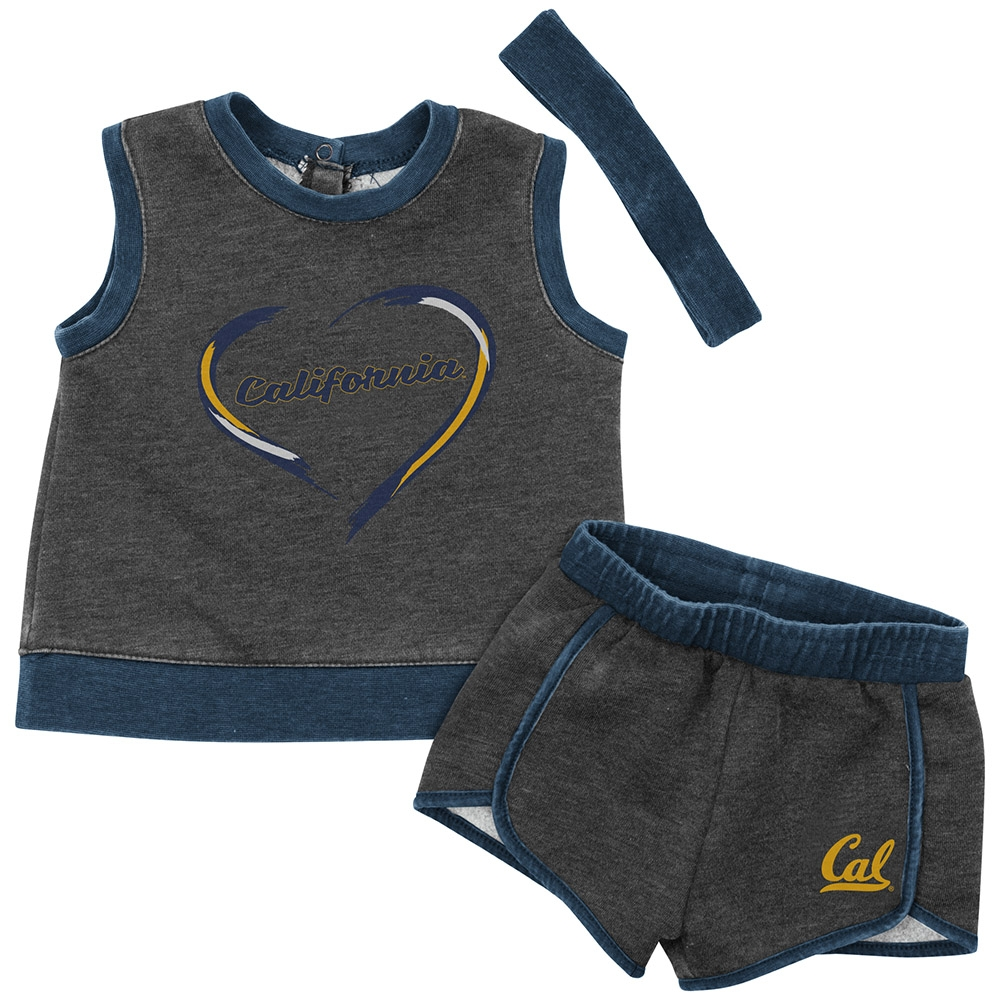 Cal Bears Infant Girls Ham Porter Set by Colosseum