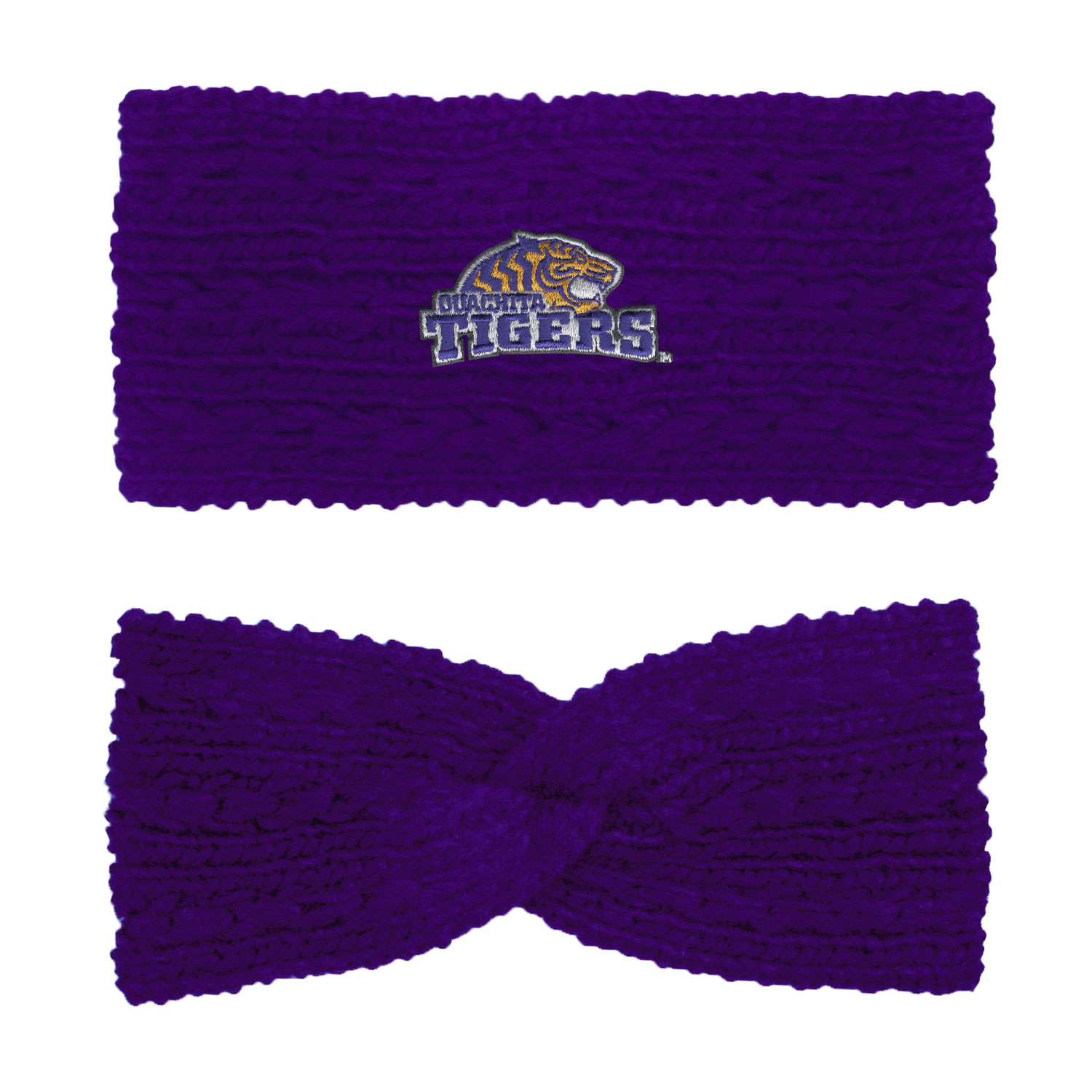 OUACHITA TIGERS KNIT TWIST EAR BAND