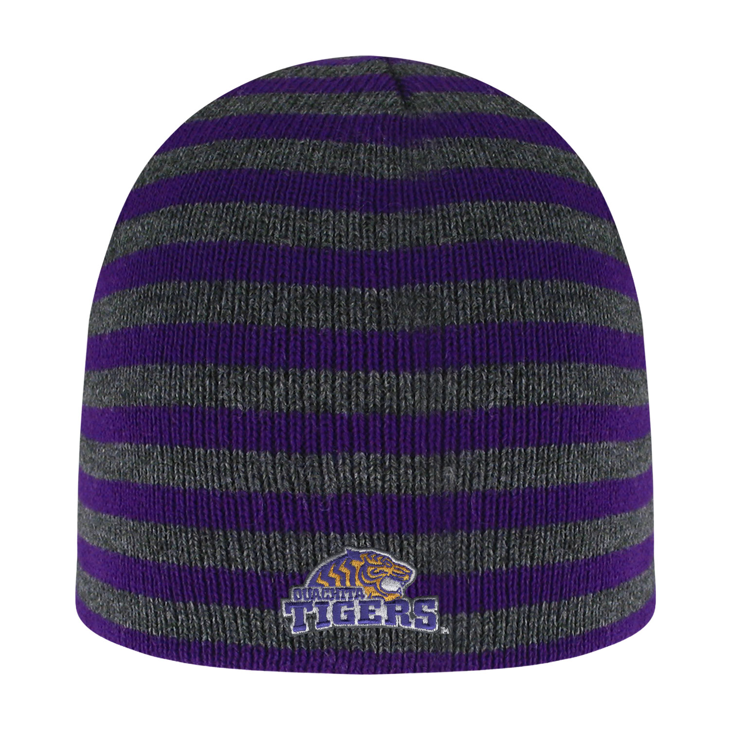 OUACHITA TIGERS BLIZZARD MICRO-STRIPED KNIT BEANIE