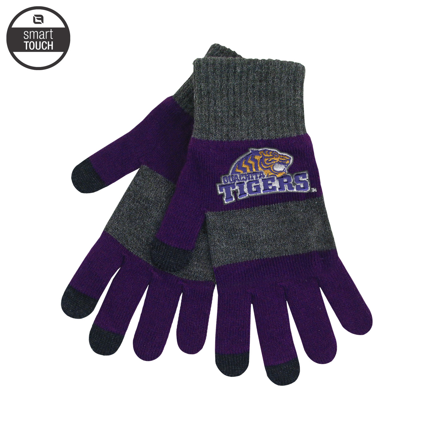 OUACHITA TIGERS TRIXIE GLOVES WITH TEXTING TIPS