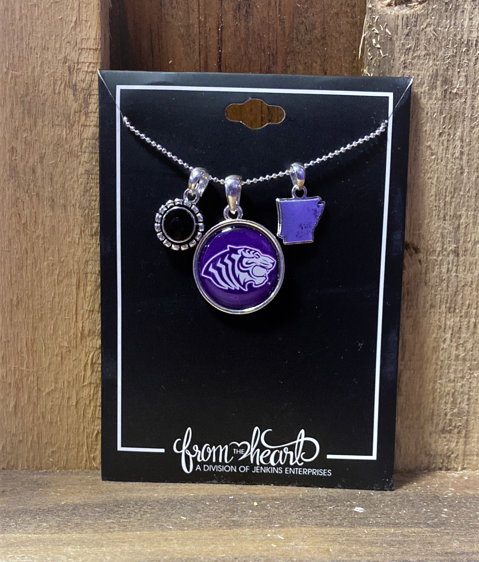 OUACHITA 'HOME SWEET SCHOOL' NECKLACE