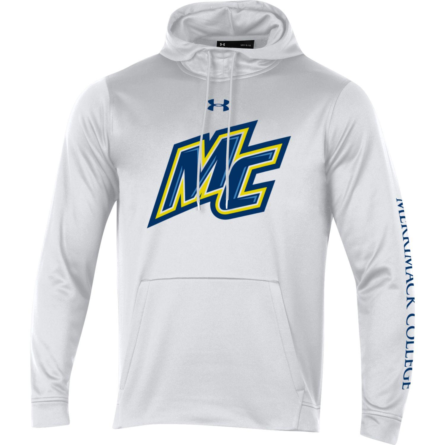 Under Armour White Athletic Hood