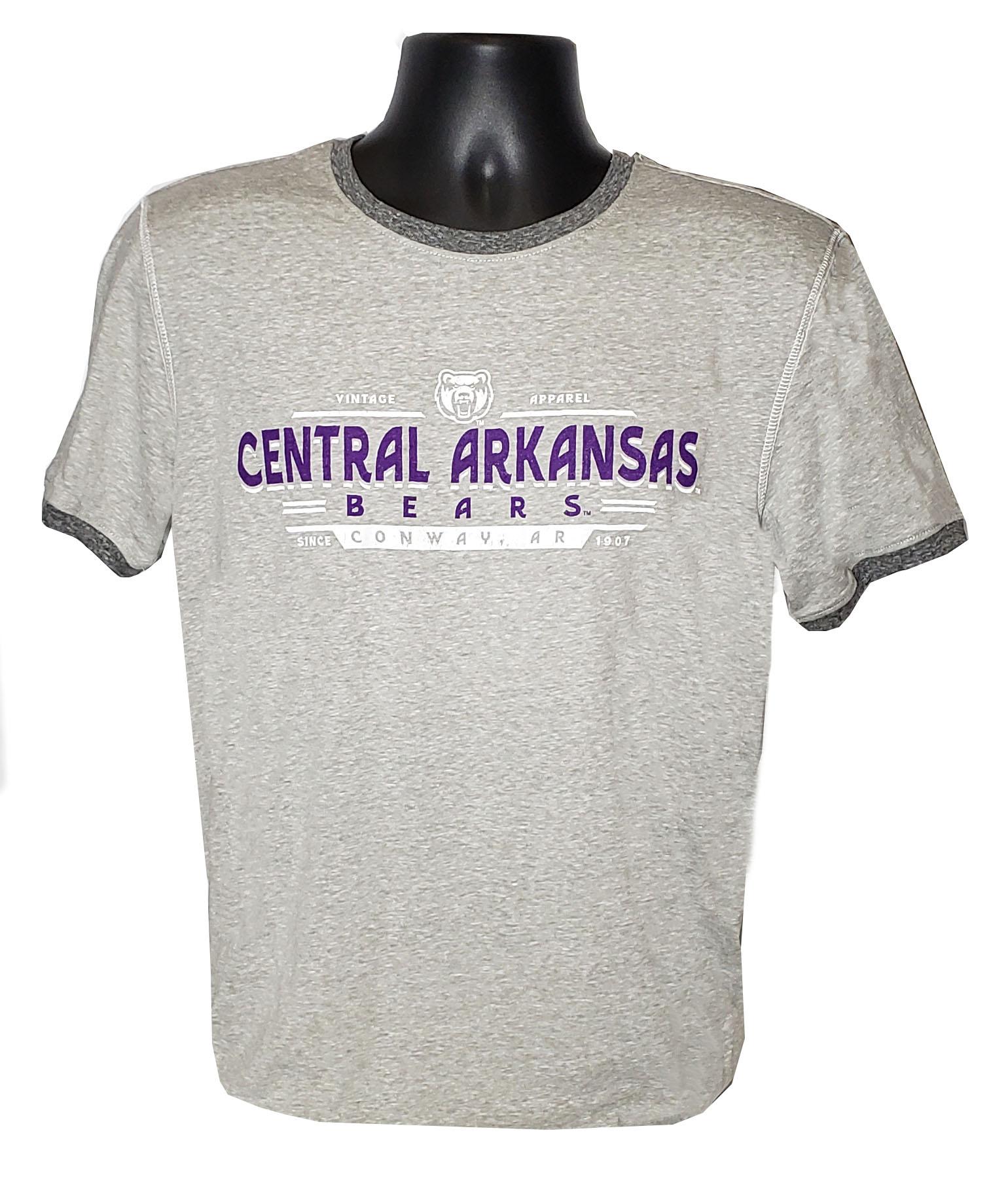 Central Arkansas Ringer Tee