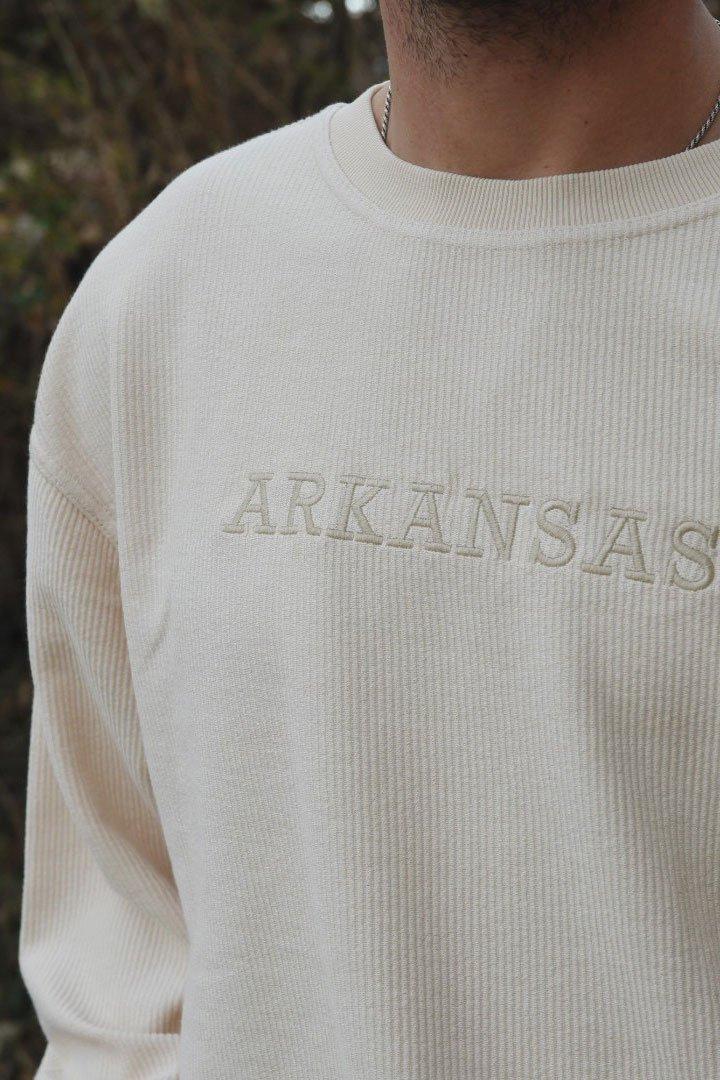 M Arkansas Tonal Corded Crew