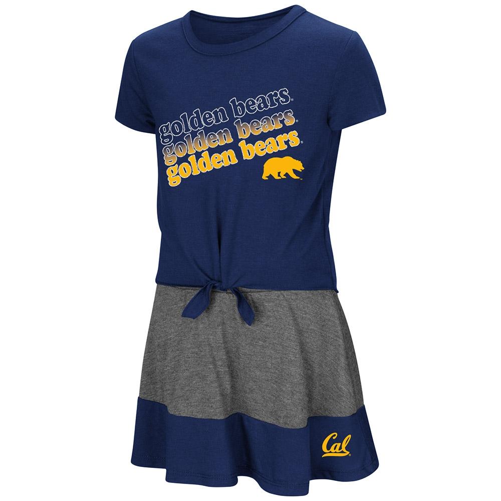 Cal Bears Toddler Girls For-Ev-Er SS Tee and Skort Set by Colosseum