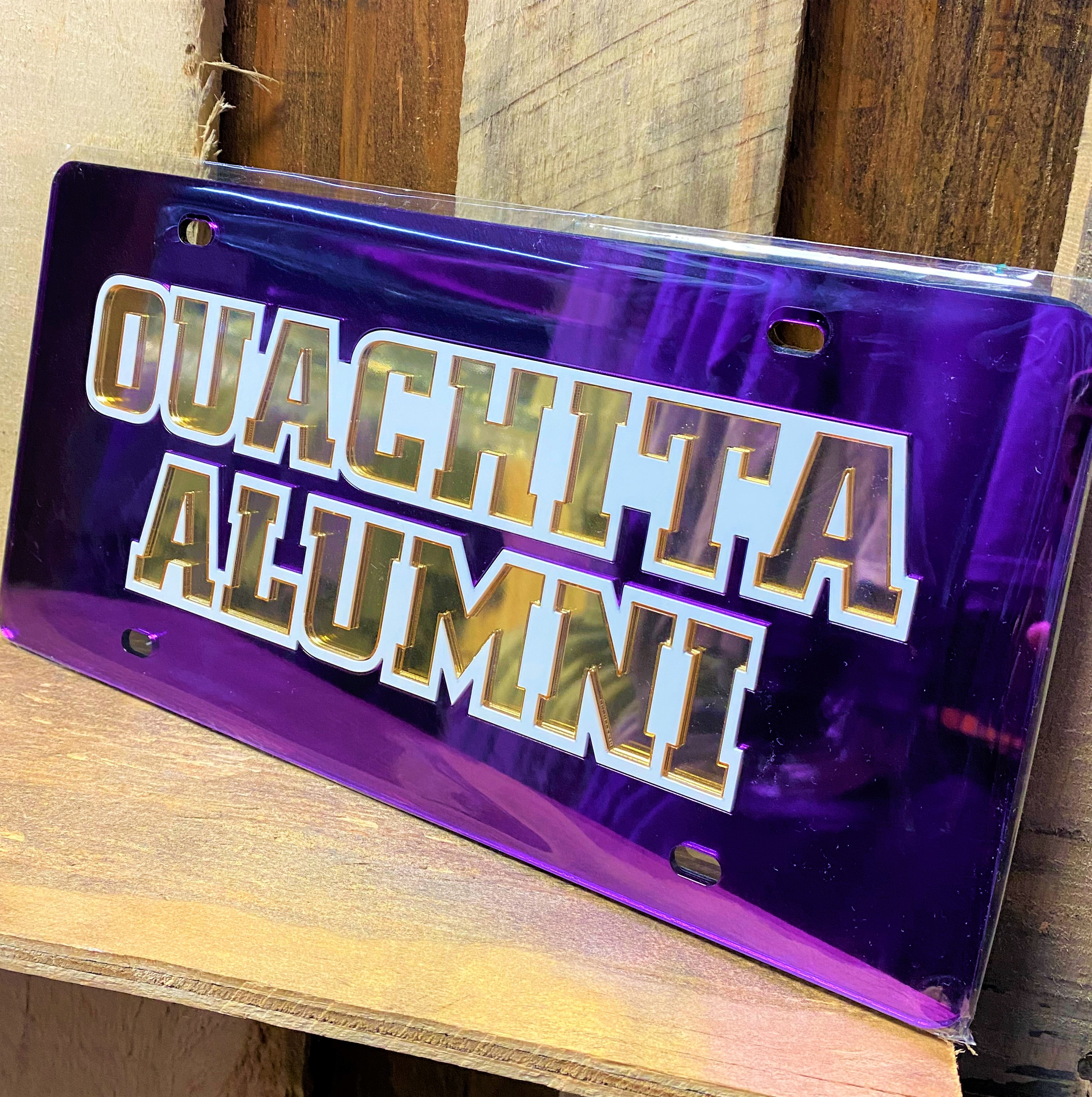 OUACHITA ALUMNI LICENSE PLATE