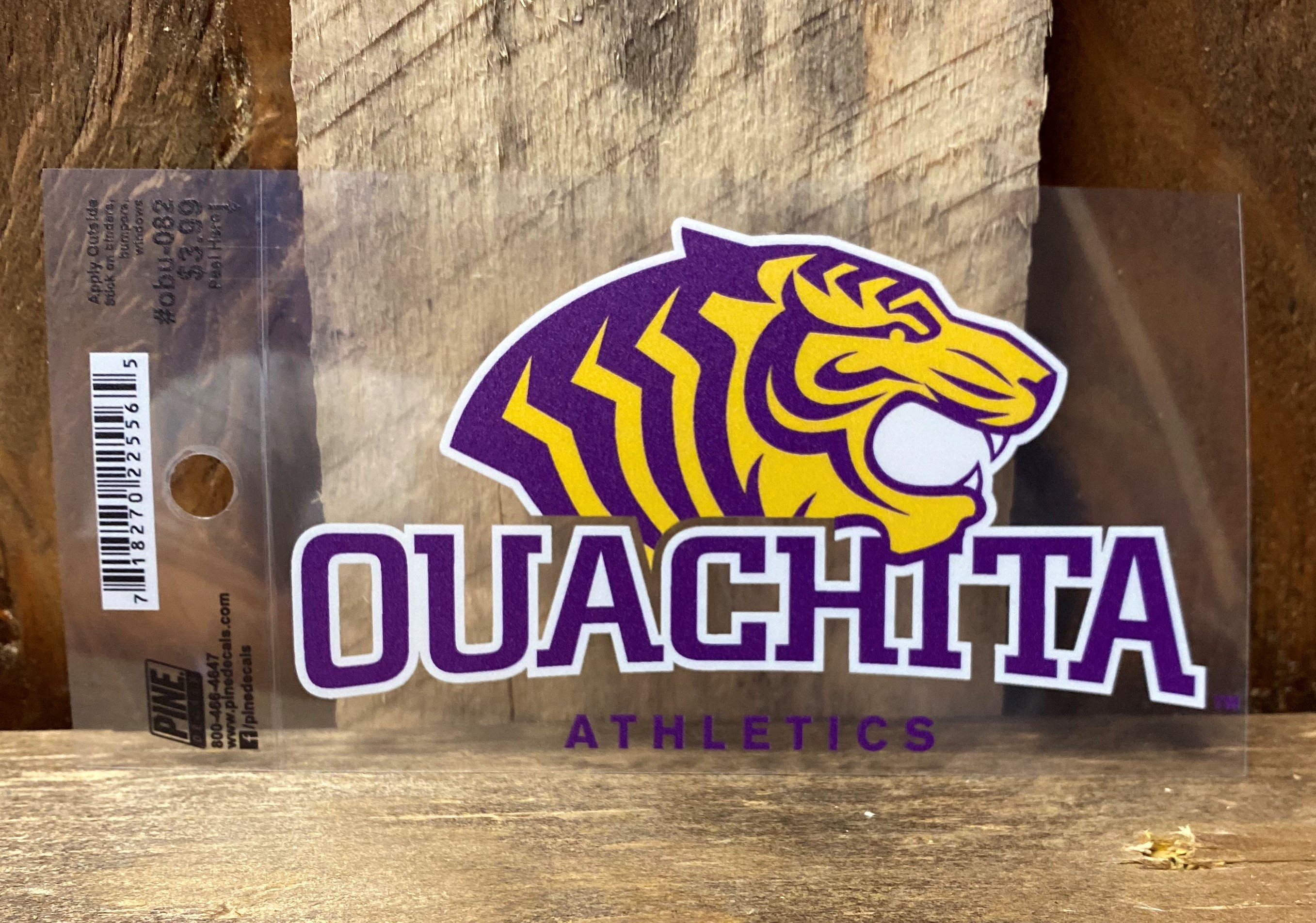 OUACHITA ATHLETICS CAR DECAL