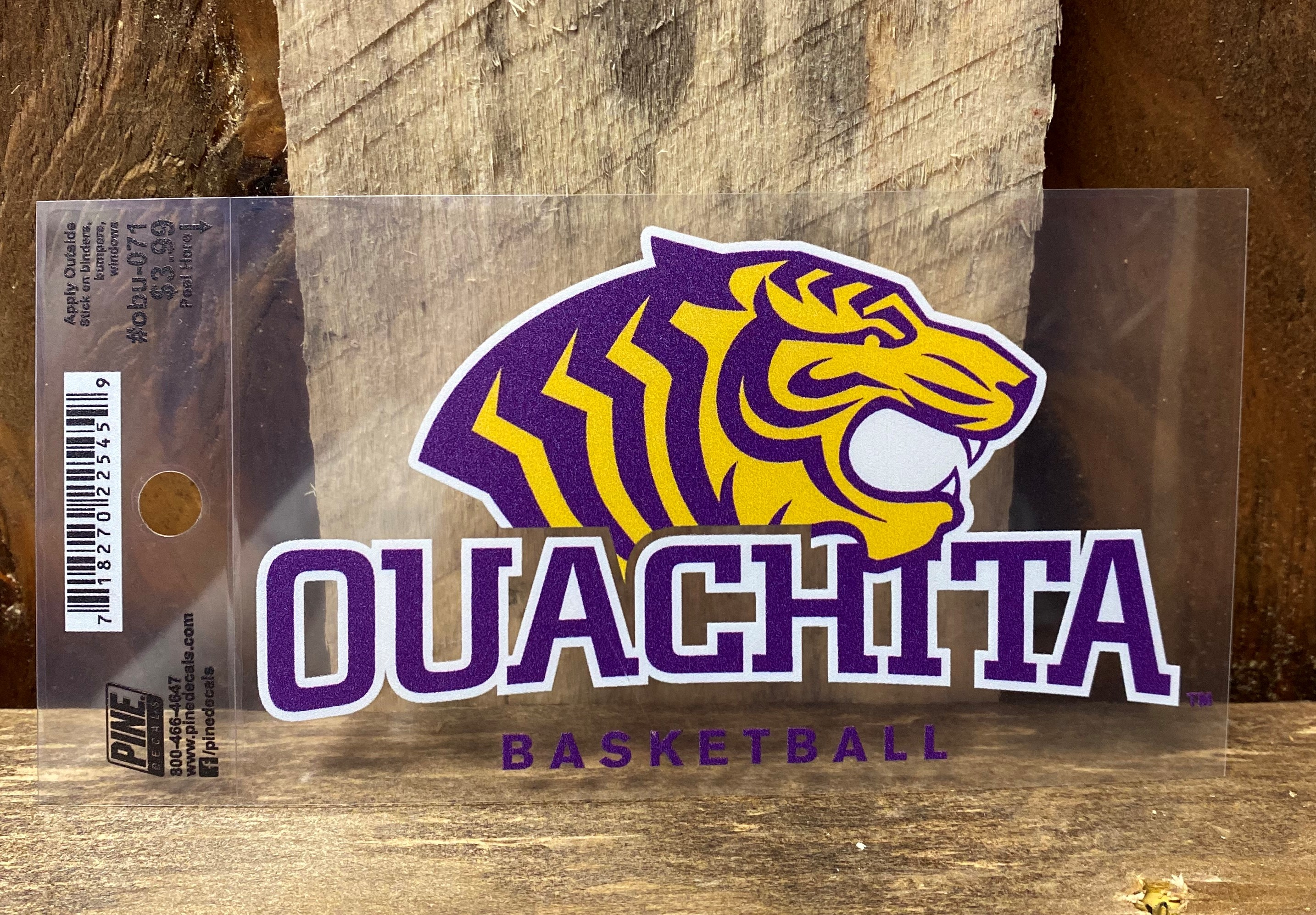 OUACHITA BASKETBALL CAR DECAL
