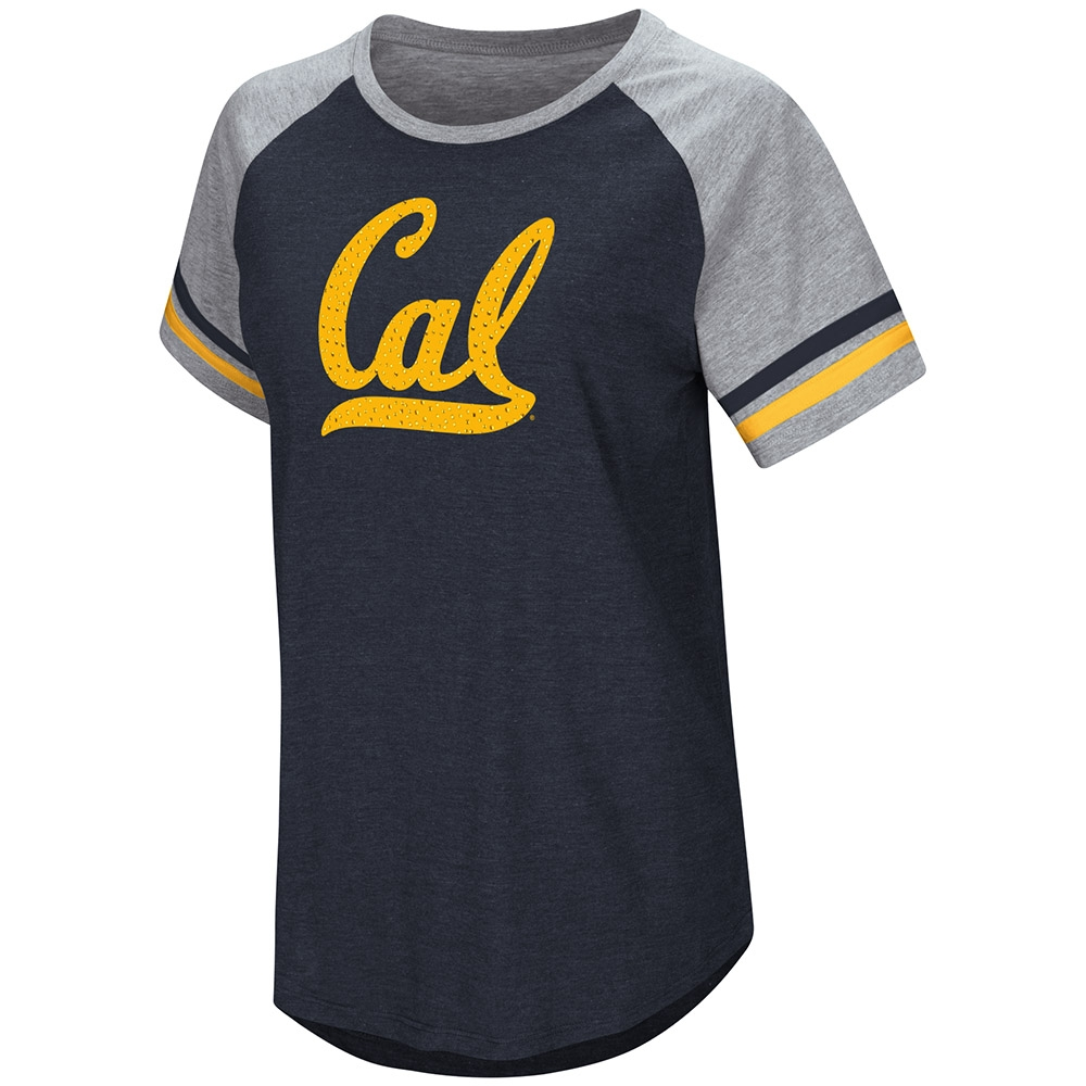 Cal Bears Women's Southbend Blue Sox Oversized SS Tee by Colosseum