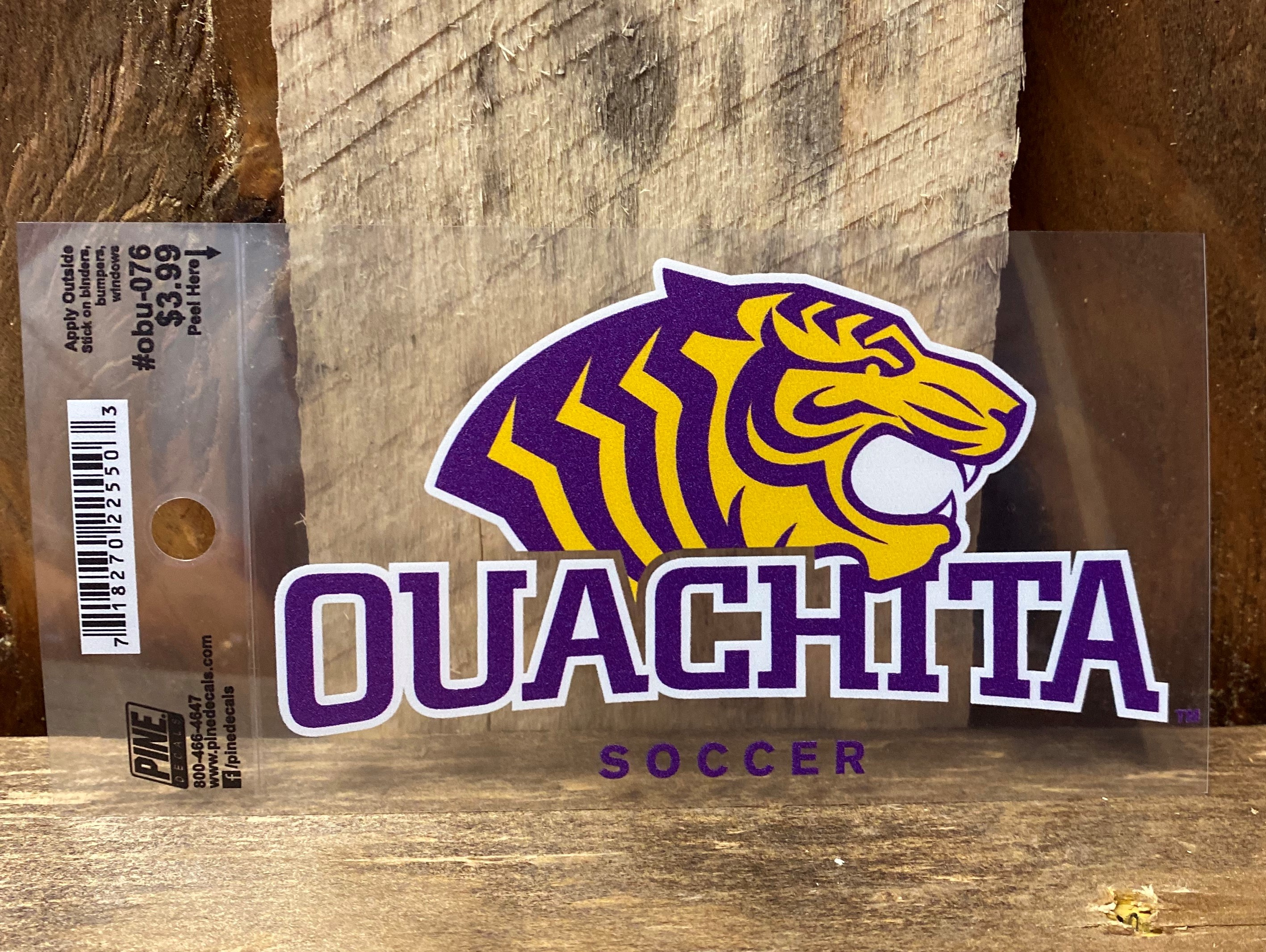 OUACHITA SOCCER CAR DECAL
