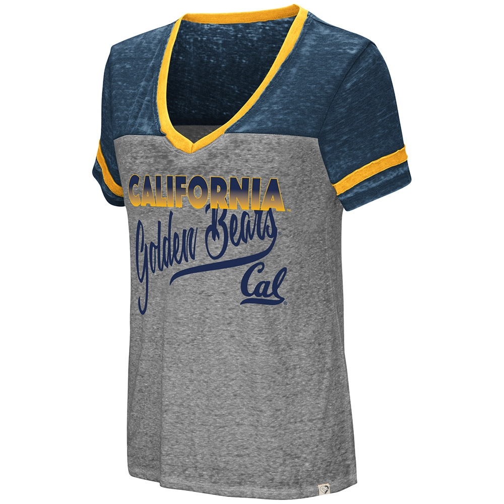 Cal Bears Women's Final Game Oversized SS Tee by Colosseum