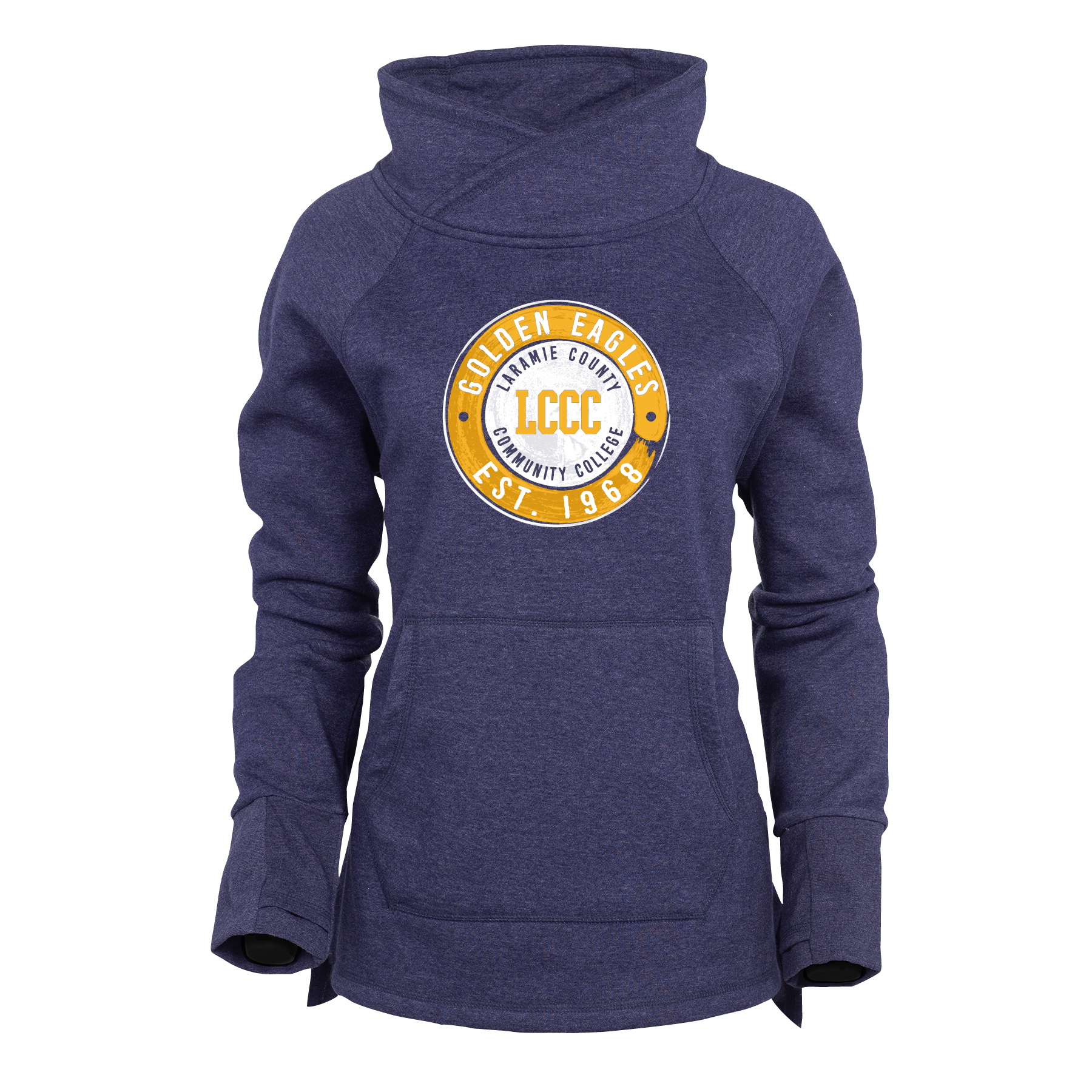 LCCC Est. 1968 Cozy Funnel Neck Sweatshirt
