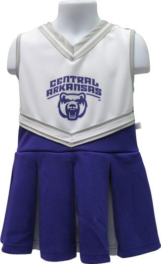UCA Pleated Cheer Dress
