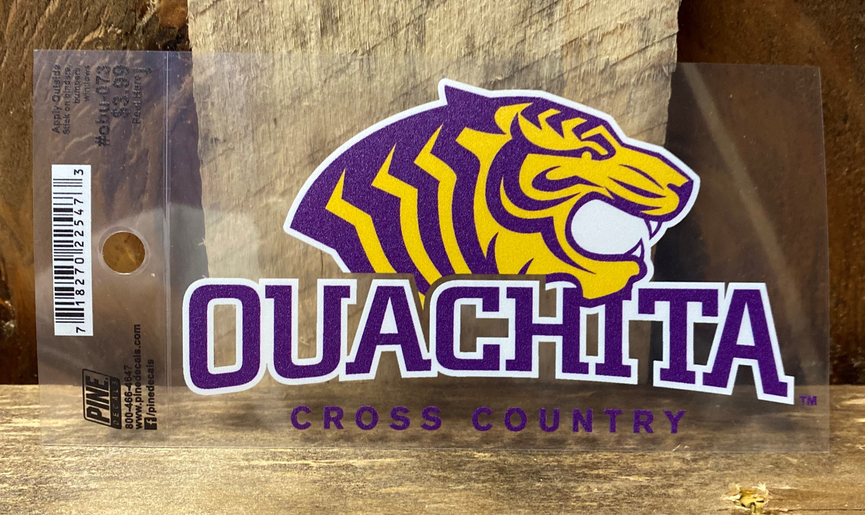 OUACHITA CROSS COUNTRY CAR DECAL