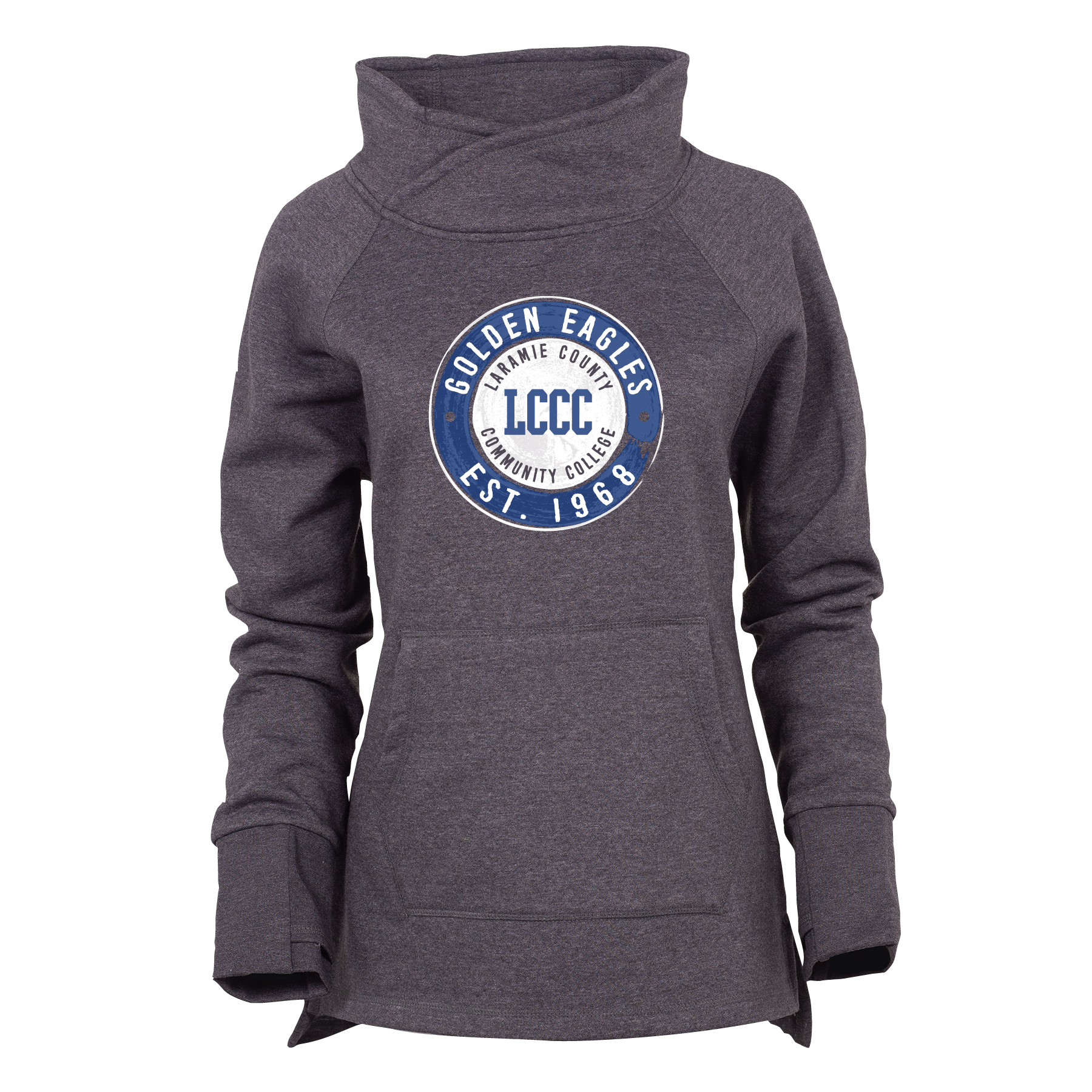 LCCC Est. 1968 Cozy Funnel Neck Sweatshirt