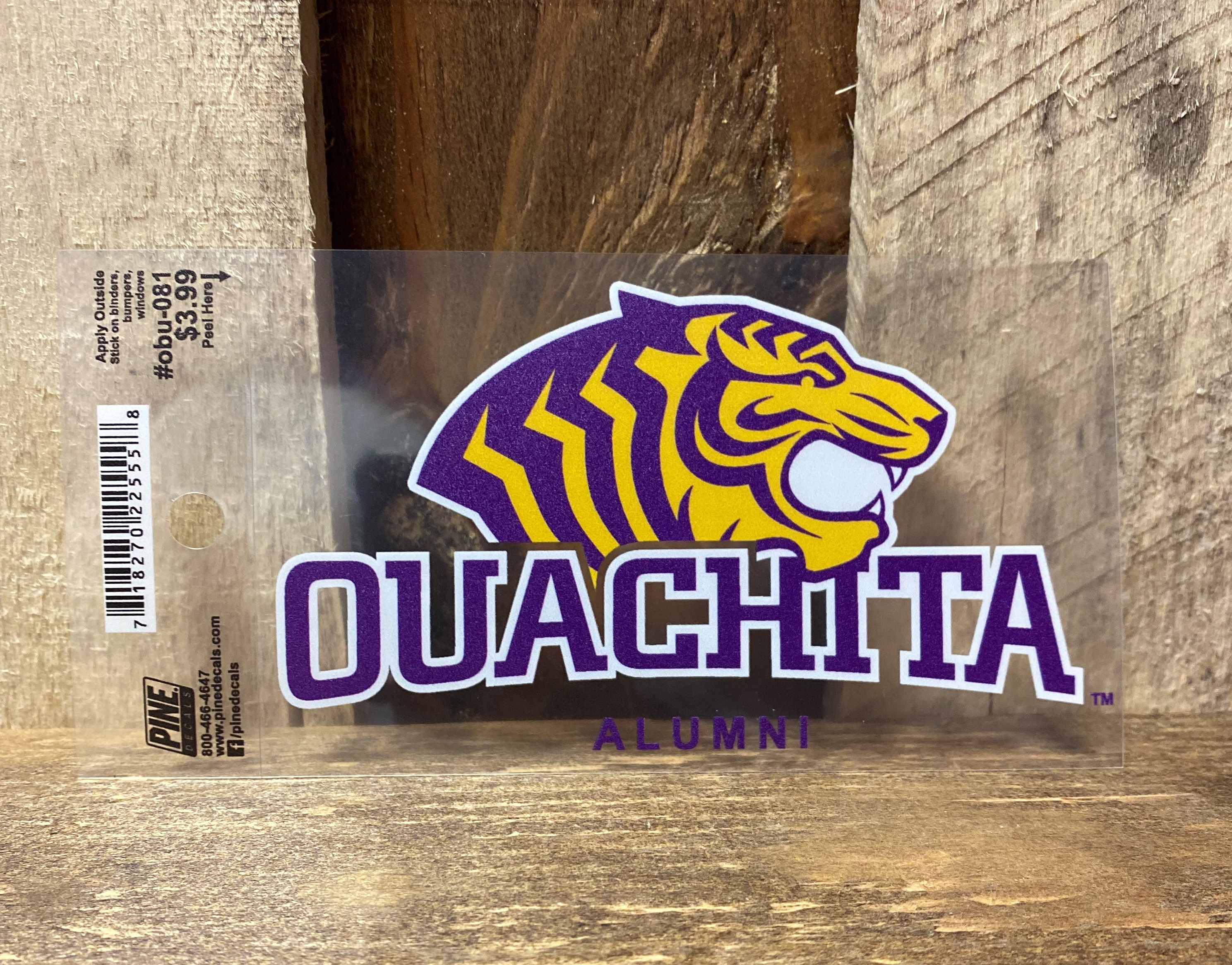 OUACHITA ALUMNI CAR DECAL