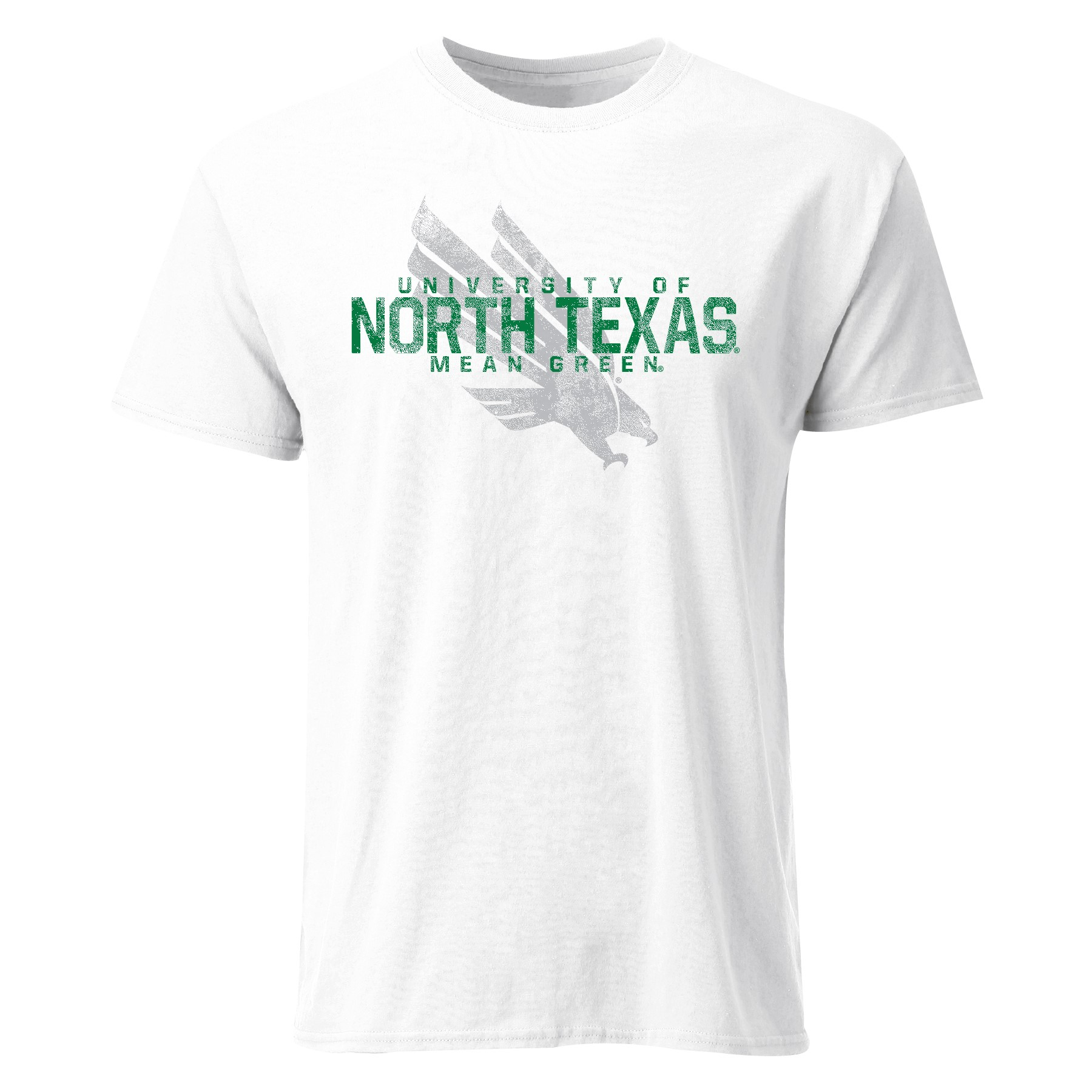UNT GRAY EAGLE TEE