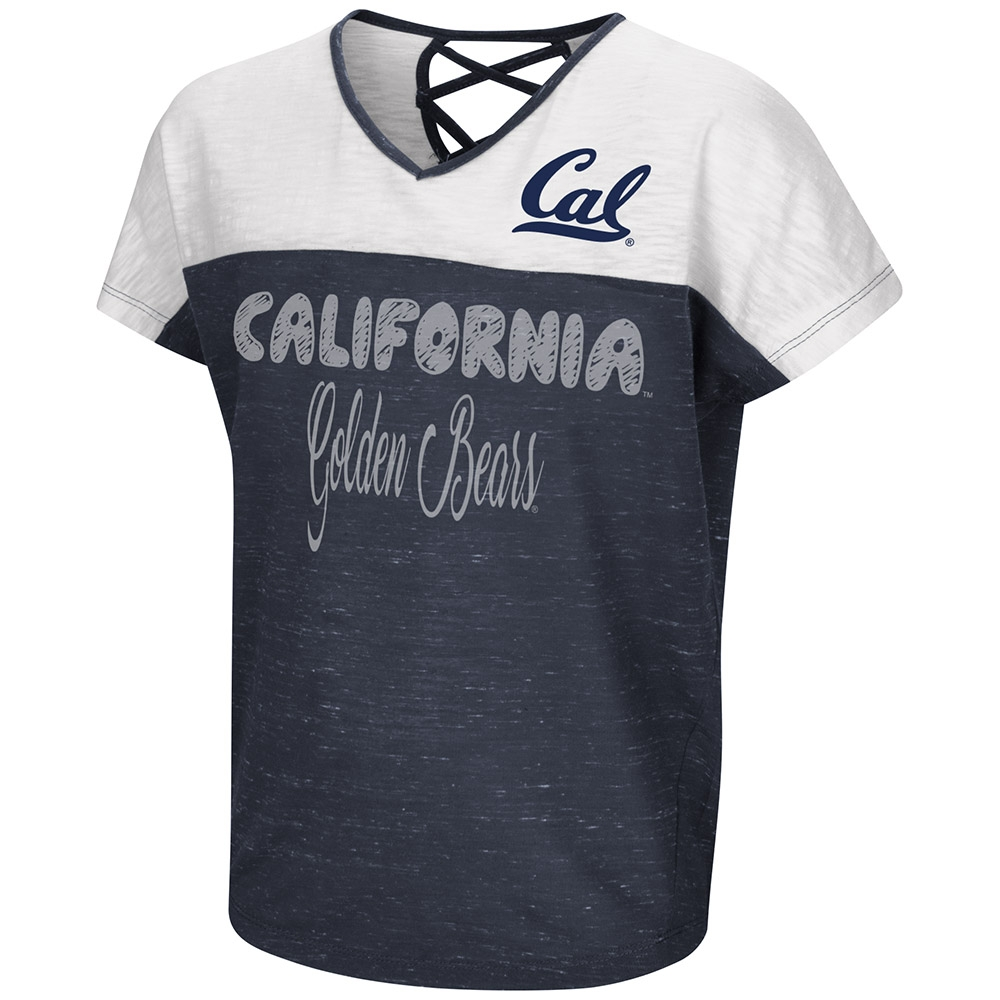 Cal Bears Girl's Girls Palledorous SS Dolman Tee by Colosseum