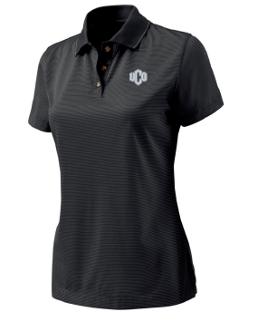 Women Microstripe Polo