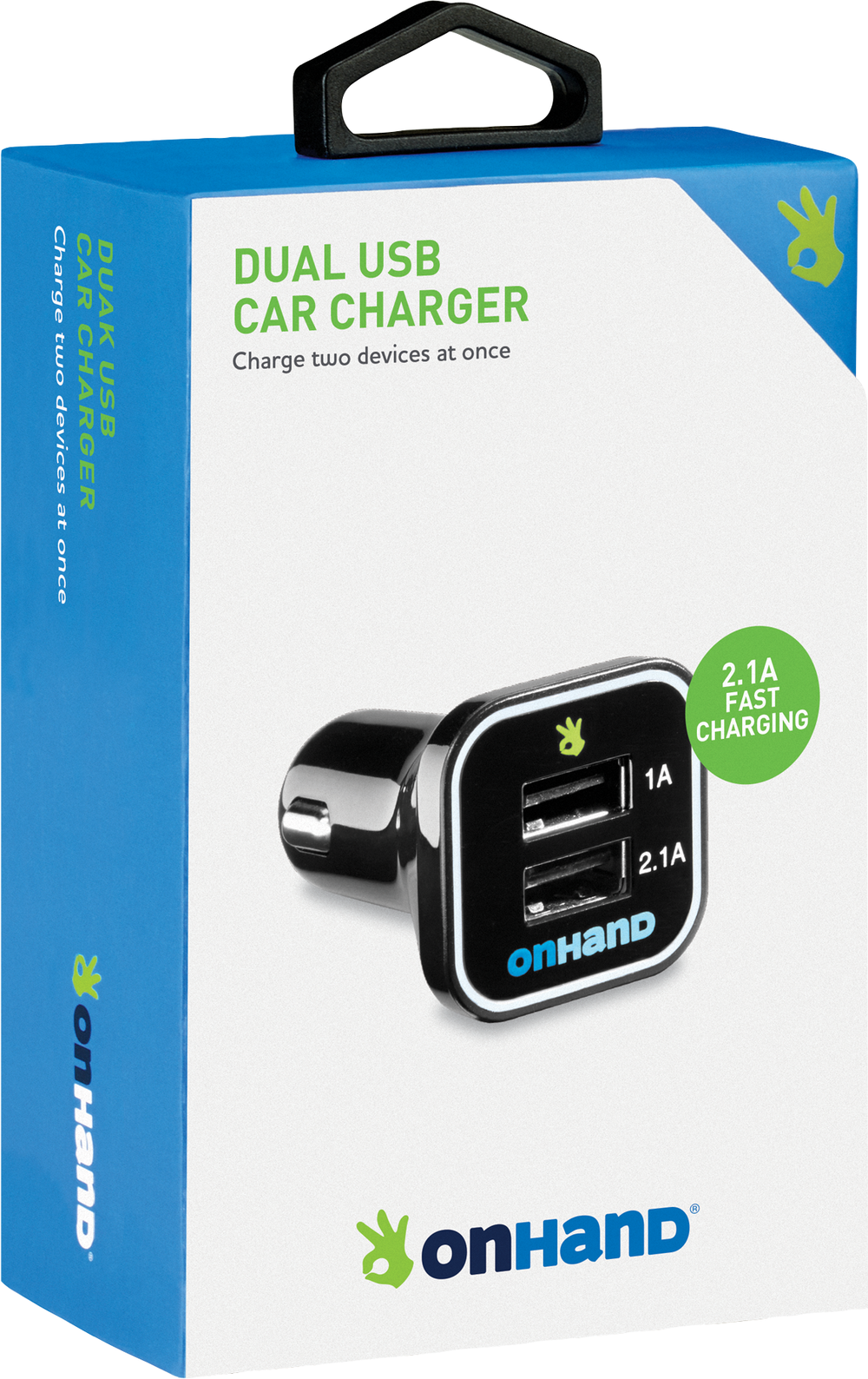 OnHand Car Charger - Black BP