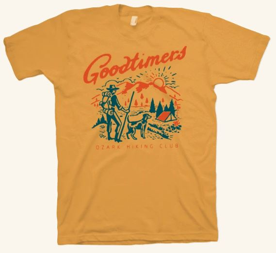 M Goodtimers Ozark Hiking Club SS Tee
