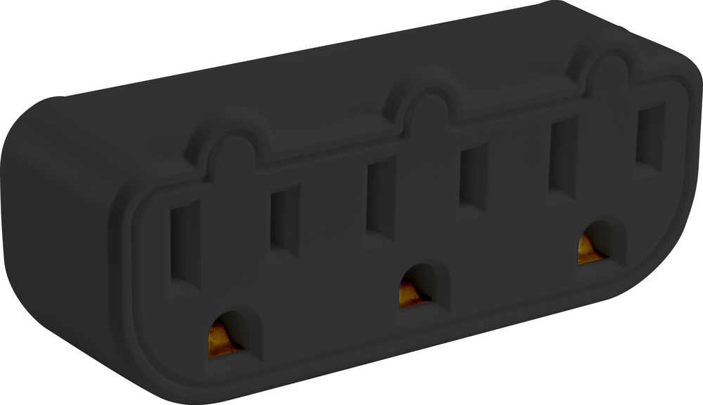OnHand Triple Tap 3 Outlet - Black BP 3 Outlets