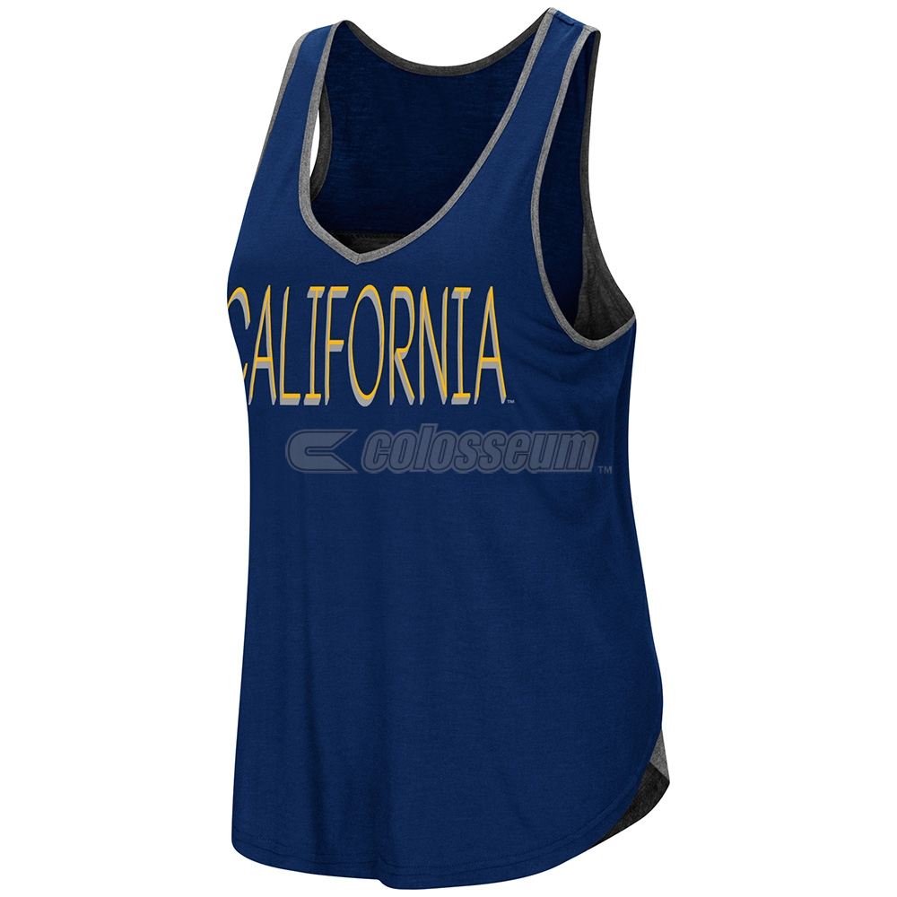 Cal Bears Women's All The Way Tulip Back Tank by Colosseum