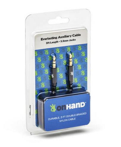 OnHand Everlasting Auxiliary Cable - 3ft